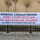 Թուրքիայի գլխավոր ընդդիմադիր կուսակցությունը շնորհավորել է հայ համայնքի Նոր տարին եւ Սուրբ Ծնունդը