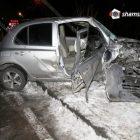 Երեւանում Nissan March-ի վարորդը վրաերթի է ենթարկել 26-ամյա հետիոտնին, ապա բախվել երկաթյա սյանը. կան վիրավորները