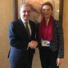 Հայաստանի եւ Խորվաթիայի ԱԳ նախարարները քննարկել են երկկողմ օրակարգի առավել ընդլայնման հարցը