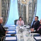 Արմեն Սարգսյանը Ֆրանսիայի նախկին վարչապետի հետ քննարկել է հարավկովկասյան տարածաշրջանի մարտահրավերները