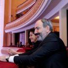 Փաշինյանը տիկնոջ հետ ներկա է եղել Հայաստանի ազգային ֆիլհարմոնիկ նվագախմբի համերգին