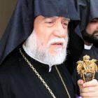 Արամ Ա կաթողիկոսը Տիգրան Մանսուրյանին պարգեւատրել է «Ասպետի կարգ» շքանշանով