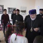 Ամենայն Հայոց կաթողիկոսը Էջմիածնի միաբանների ուղեկցությամբ այցելել է Գյումրի