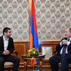 Հենրիխ Մխիթարյան․ Նախագահի հետ քննարկեցինք հայկական ֆուտբոլի զարգացման հարցեր