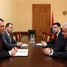 ՌԴ դեսպանը հանդիպել է ԱԺ փոխնախագահների հետ