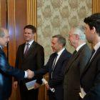 Նախագահ Սարգսյանն ընդունել է միջուկային էներգիայի հարցերով ֆրանսիական պատվիրակությանը