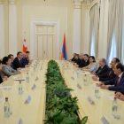 Երկու ժողովուրդների պատմությունը համատեղված է նրանց ունեցած ապագայի ներուժով. հայ-վրացական բարձր մակարդակի հանդիպում