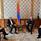 Ամերիկայի հայկական համագումարի ներկայացուցիչները Արմեն Սարգսյանին են ներկայացրել իրենց ծրագրերն ու նախագծերը
