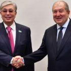 Արմեն Սարգսյանը շնորհավորել է Կասիմ-Ժոմարտ Տոկաեւին Ղազախստանի նախագահի պաշտոնը ստանձնելու առթիվ