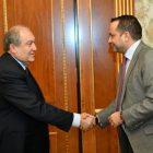 Արմեն Սարգսյանն ընդունել է Global Citizen Forum-ի հիմնադիր Արմանդ Արտոնին