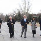 ԿԴՄՄ նախագահն ու ԵԺԿ գլխավոր քարտուղարը այցելել է Ծիծեռնակաբերդի հուշահամալիր