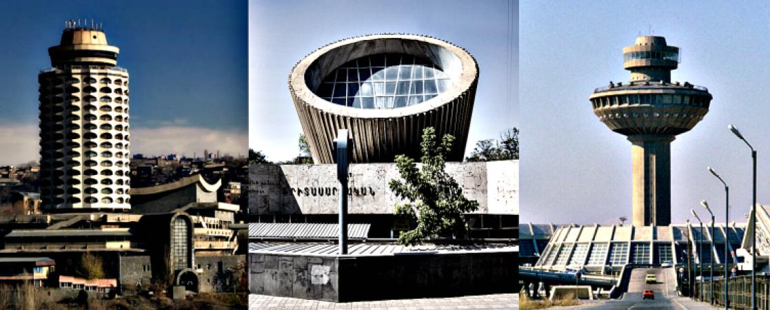 Խորհրդային Հայաստանի տիեզերական ճարտարապետությունը