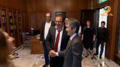 Գագիկ Ծառուկյանը հանդիպել է ՀՀ-ում Ճապոնիայի դեսպան Ջուն Յամանդայի հետ