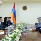 Հակոբ Արշակյանը Սվիտալսկիի հետ քննարկել է Հայաստանում ԵՄ ծրագրերը