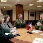 Հայաստանի պաշտպանության նախարարն ընդունել է ԱՄՆ դեսպանին