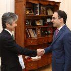 Կառավարության կողմից նոր հնարավորություններ են ստեղծվում օտարերկրյա ներդրողների համար. Ավինյանը՝ Ճապոնիայի դեսպանին