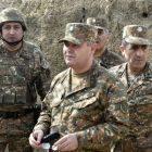 ՀՀ զինված ուժերի գլխավոր շտաբի պետը շրջայց է կատարել հյուսիսարևելյան սահմանագոտում