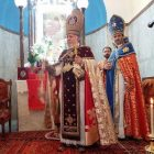 Գարեգին Բ-ն Սուրբ եւ Անմահ պատարագ է մատուցել Կրետեի Սուրբ Հովհաննու Կարապետ հայկական եկեղեցում
