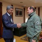 Դավիթ Տոնոյանը ընդունել է Հայաստանում Հնդկաստանի արտակարգ եւ լիազոր դեսպան Յոգեշվարա Շանգվանիին