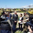 Գերմանիան շնորհավորում է Հայաստանին՝ 21 զրահապատ մարտական մեքենաների արդյունավետ կրճատման առիթով. դեսպանություն