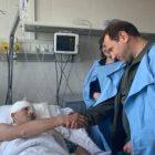 Դավիթ Տոնոյանը այցելել էր կենտրոնական հոսպիտալ, որտեղ տեսակցել է մի քանի բուժվող զինծառայողների. Արծրուն Հովհաննիսյան