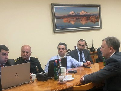 ՌԴ մաքսային ծառայության ղեկավարի տեղակալը՝ ՊԵԿ-ում. Քննարկել են միջազգային փոստային եւ էքսպրես-առաքումների հարցը
