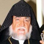 Ն.Ս.Օ.Տ.Տ. Արամ Ա. Կաթողիկոսը մնայուն կապի մեջ է Վենեսուելայի հայ համայնքի հետ