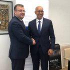Արտակ Ապիտոնյանը Վիեննայում հանդիպեց ԵԱՀԿ մամուլի ազատության հարցերով ներկայացուցիչ Հարլեմ Դեզիրին