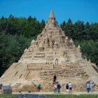 Գերմանիայում աշխարհի ամենամեծ ավազե ամրոցն են կառուցել