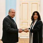 Արմեն Սարգսյանին իր հավատարմագրերն է հանձնել Հայաստանում Մարոկկոյի նորանշանակ դեսպանը
