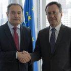 Դեսպան Սամվել Մկրտչյանը հանդիպել է Frontex-ի գործադիր տնօրենի հետ