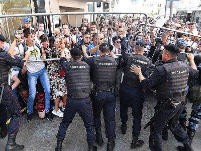 Մոսկվայում հուլիսի 27-ի ընտրությունների թեկնածուներին չգրանցելու դեմ ակցիայում կալանավորվածների մեջ 20 հայ կա