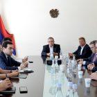 Արդարադատության փոխնախարարն ընդունել է ԳԴՀ Սաքսոնիա-Անհալթ երկրամասի լանդթագի ՔԴՄ խմբակցության պատգամավորներին