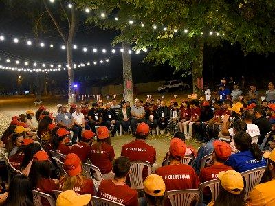 Բակո Սահակյանը հանդիպում է ունեցել «Հաղթանակած 2019» համահայկական երիտասարդական հավաքի մասնակիցների հետ
