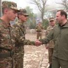 Աշխատանքային այցով ՊԲ է այցելել ՀՀ պաշտպանության նախարար Դավիթ Տոնոյանը