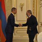 Նիկոլ Փաշինյանը հանդիպեց ՈւԵՖԱ-ի նախագահ Ալեքսանդր Չեֆերինի հետ