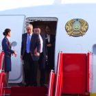 Ղազախստանի նախագահը ժամանեց Երևան