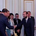 Արարատ Միրզոյանն ընդունել է Ֆրանսիայի Ազգային ժողովի պատգամավորների պատվիրակությանը