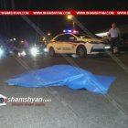 Սեբաստիա-Կուրղինյան փողոցների խաչմերուկում վարորդը վրաերթի է ենթարկել հետիոտնի