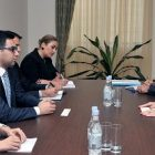 Ռուստամ Բադասյանն այսօր ընդունել է Հայաստանում Բուլղարիայի Հանրապետության արտակարգ և լիազոր դեսպանին