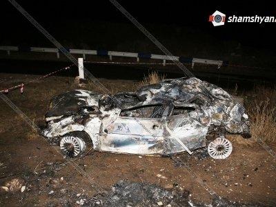 Դաժան վթար Գեղարքունիքում. Opel-ը մի քանի պտույտ գլորվել է. 2 զոհերից մեկի դին գտել են կիսամոխրացած. կա 2 վիրավոր