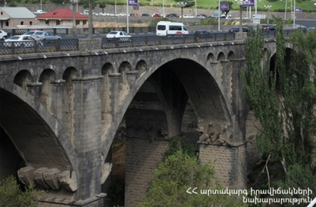Ինքնասպանություն Երևանում. տղամարդը Կիևյան կամրջից իրեն ցած է նետել