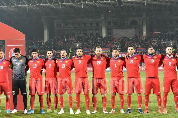 Հայաստանի հավաքականի հավանական մեկնարկային կազմը Իտալիայի դեմ