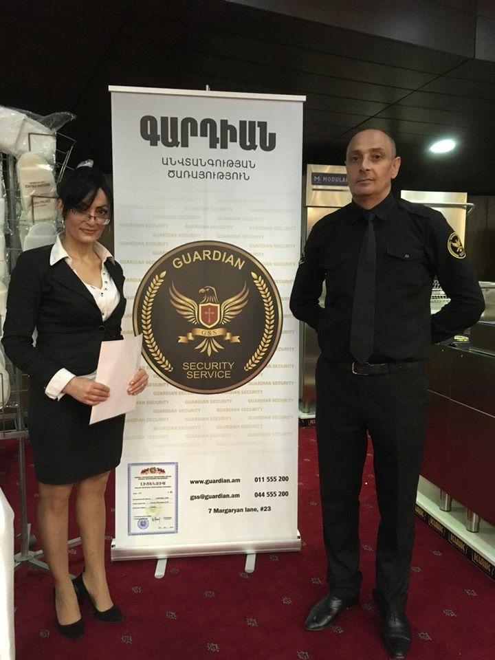 Բարձրակարգ անվտանգության ծառայություններ՝ ԳԱՐԴԻԱՆ պահնորդական ընկերության կողմից