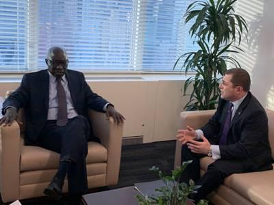 ՀՀ մշտական ներկայացուցիչը հանդիպել է Ցեղասպանության կանխարգելման հարցերով ՄԱԿ Գլխավոր քարտուղարի հատուկ խորհրդականի հետ