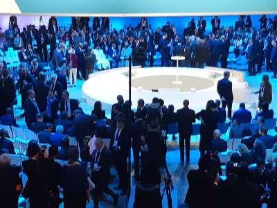 Փաշինյանը մասնակցում է Փարիզի խաղաղության համաժողովին