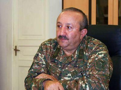 Մովսես Հակոբյանն ազատվել է գլխավոր ռազմական տեսուչի պաշտոնից