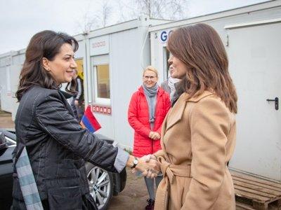 Աննա Հակոբյանն ու Լիտվայի վարչապետի տիկինը քննարկել են համատեղ նախաձեռնությունների հնարավորությունները