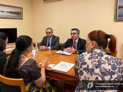 Քննարկվել են Հայաստանի ու Հնդկաստանի միջեւ համագործակցության եւ փորձի փոխանակման հարցեր.ՊԵԿ