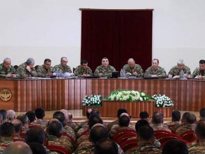 Կարեն Աբրահամյանի նախագահությամբ անցկացվել է ՊԲ-ի ռազմական խորհրդի նիստ